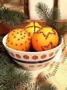 Spiced Orange Pomander Ball