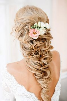 Wedding Hairstyles For Long Hair - Fishtail and Braids Hairstyle