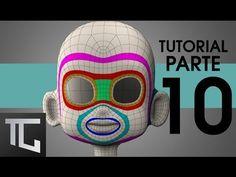 TUTORIAL TOPOLOGÍA BÁSICA EN TOPOGUN PARA RIG FACIAL ::: Parte 10 - YouTube