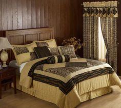 Tiger Bedroom for Contemporary Bedroom on Wooden Floor