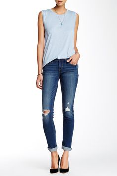 Levi's - 524 Water Side Skinny Jean (Juniors) at Nordstrom Rack. Free Shipping on orders over $100.