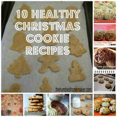 You can't miss these 10 healthy Christmas cookie recipes! These are perfect to make on Thanksgiving day with your family!