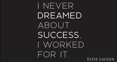 estee-lauder-success-quote