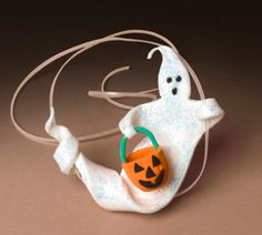 Shimmering #Ghost #Necklace #Halloween #MichaelsStores