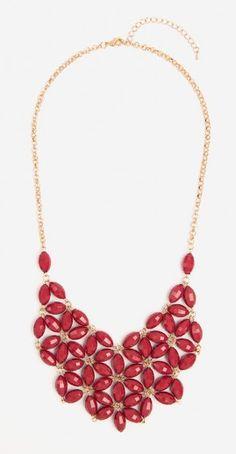 Wine Daisy Tessellate Necklace | Urban Peach