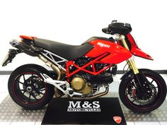 Used Ducati Hypermotard 1100 S For Sale at M&S MOTORCYCLES | Secondhand bikes | Newcastle & North East & Northumberland