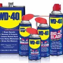 WD-40 különféle kiszerelésekben
