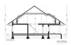 Projekt domu Neptun IV , wizualizacja 7 Wardrobe Rack, House Plans, Loft, How To Plan, Bed, Projects, Furniture, Home Decor, Ideas