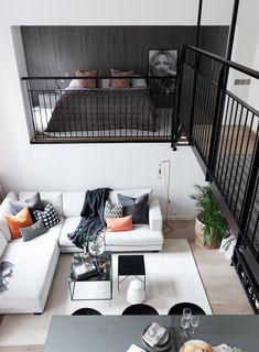 Un loft design dans un bâtiment ancien - PLANETE DECO a homes world Loft Design, Loft Interior Design, Deco Design, Design Homes, Eclectic Design, Exterior Design, Design Design, Interior Architecture, Loft Interiors