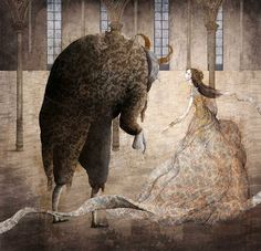 Beauty and the Beast by Gabriel Pacheco