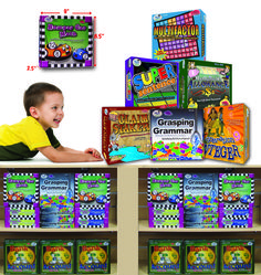 """The games from WCA Games That Teach add to and supplement curriculum, including Common Core. All of them are in easy-to-learn, familiar game formats, similar to Monopoly, Bingo, dominoes and more. """"They are reasonably priced educational games that really teach,"""" said Company President Mark Carlson. wiebe-carlson.com"""