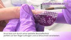 Acryl Modellage - Neon Multi Bubble Nail - German Dream Nails - 147  #nageldesign #naildesign #acryl http://www.german-dream-nails.com