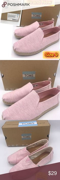 5577bd62b3b Shop Women s Toms size 9 Espadrilles at a discounted price at Poshmark.  Description  Deconstructed Alpargata Rope Blossom Slub Chambray Size Sold  by ...