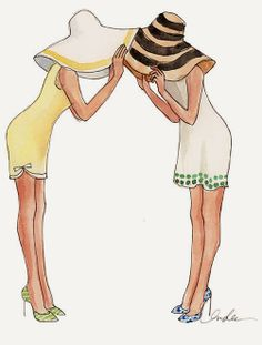 Easter Bonnets by Inslee Haynes