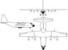 C-130 Hercules blueprint