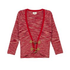 Lily Cardigan Red