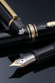 Inheritance. Mont Blanc Meisterstück Le Grand fountain pen.