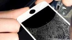 Ремонт Iphone 5S Замена стекла-Replacing the glass