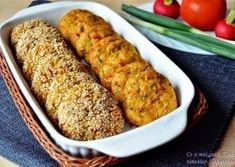 Chiftele din legume la cuptor Veggie Recipes, Indian Food Recipes, Cooking Recipes, Healthy Recipes, Veggie Food, Healthy Food, A Food, Good Food, Food And Drink