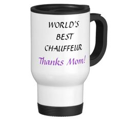 WORLD'S BEST CHAUFFEUR - travel mug