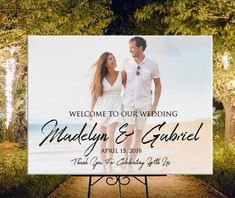 Photo wedding welcome sign, printable personalized entrance welcome photo sign for wedding or birthday, DIGITAL photo welcome sign Wedding Album, Wedding Signs, Wedding Ideas, Wedding Decorations, Wedding Table, Wedding Stuff, Wedding Photos, Wedding Inspiration, Wedding Remembrance