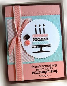 Me, My Stamps and I: Playing with Colors Stamps:  Embellished Events Paper:  Chocolate Chip, Blushing Bride, Soft Sky, Whisper White, DSP Ink: Chocolate Chip, Blushing Bride, Soft Sky Accessories: pearls, ribbons, buttons Tools:  Big Shot, needlepoint border EF, Decorative dots EF, starburst framelit die, dimensionals  Stampin' Up!