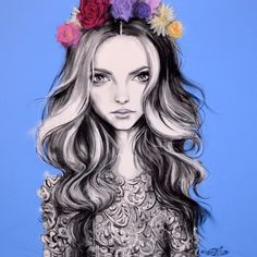 Kai Fine Art is an art website, shows painting and illustration works all over the world. Illustrator, Picture Mix, Human Drawing, Fashion Sketches, Fashion Drawings, Mixed Media Art, Amazing Art, Fashion Art, Pop Art
