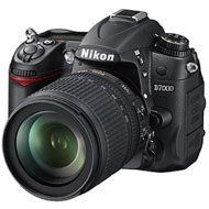 Nikon D7000 Digital SLR Camera & 18-105mm VR DX AF-S & 55-300mm VR Zoom Lens by Nikon. $1449.95. Kit includes:♦ 1) Nikon D7000 Digital SLR Camera & 18-105mm VR DX AF-S Zoom Lens♦ 2) Nikon 55-300mm f/4.5-5.6G VR DX AF-S ED Zoom-Nikkor LensThe Nikon D7000 Digital SLR Camera features a 16.2-megapixel CMOS sensor with low-light ability never before seen in a DX-format (APS-C) camera. The EXPEED 2 image-processing engine fuels the enhanced performance of the D700...