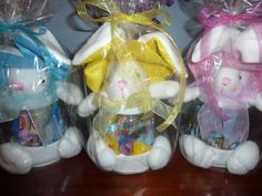 Bunny Containers filled with Easter Candy $15.00