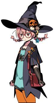 Chloe   Etrian Odyssey Wiki   Fandom Witch Characters, Fantasy Characters, Fantasy Character Design, Character Design Inspiration, Etrian Odyssey, Manga, Autumn Witch, Anime Witch, Under Your Spell