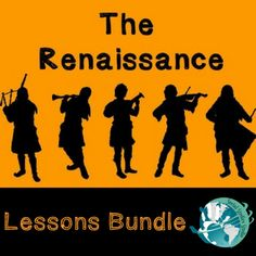 Lesson bundles are here!   Preparing units can be tiresome. Stop killing yourself with hours of research, lesson creations, and departmental meetings related to curriculum. Save yourself time and purchase our lessons in bundled packs! Our Renaissance bundle provides you with loads engaging content. These lessons will keep your students engaged for several class days! This bundle comes with lesson plans, handouts, DBQs, and a final project! This is a steal for just $14.00