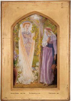 The+Annunciation+-+Arthur+Hughes