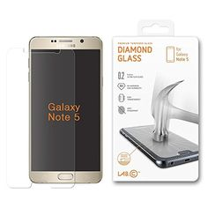 Galaxy Note 5 Tempered Glass HD Diamond Screen protector LABC Technology NEWEST 0.2mm thinner thickness - Premium Ballistic Nano Anti Scratch Free Ultra Slim Tech Armor (Samsung Galaxy Note 5) %SALE% #carscampus