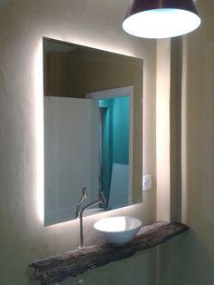 Espejo ba o con luz led blanco espejos de ba o con luz for Espejo con luz led