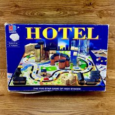MB Games 2001 Hotel board game the five star game of high stakes family party High Stakes, Game Sales, Five Star, Family Games, Pop Tarts, Board Games, Stars, Party, Ebay