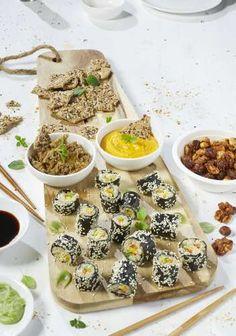 Sushi maki met bloemkoolrijst