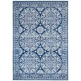 Found it at Temple & Webster - Oxus Navy Power Loomed Modern Rug