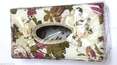 Elegant Tissue box cover fabric Home Style Multi-Color for Bathroom MPN 5884 #HomeStyle