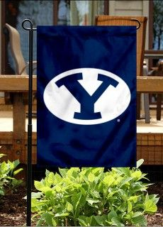 "BYU Cougars Garden Flag  - MormonFavorites.com  ""I cannot believe how many LDS resources I found... It's about time someone thought of this!""   - MormonFavorites.com"