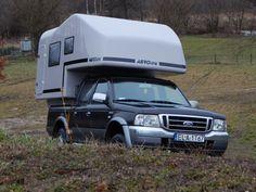 Aero one pickup camper, wohnkabine, demountable camper Pickup Camper, Pick Up, Recreational Vehicles, Camper, Campers, Single Wide
