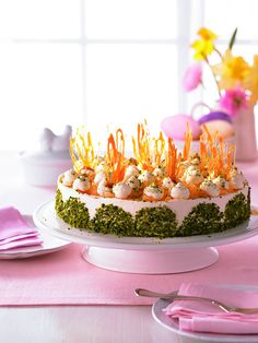 Ananas-Möhrensaft-Torte - Eine festliche Torte für die Osterzeit