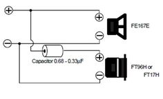 Fostex FE206En Double Bass-Reflex Zobel Circuit