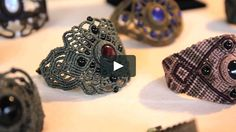 "Video by Eléonore Coyette Music: Miki Gonzales ""Munaq El Amante"" Macrame Jewelry Tutorial, Macrame Rings, Macrame Bag, Macrame Necklace, Bracelet Tutorial, Diy Jewelry, Jewelery, Handmade Jewelry, Jewelry Making"