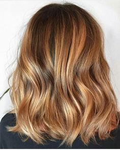 Golden Blonde Balayage for Straight Hair - Honey Blonde Hair Inspiration - The Trending Hairstyle Blonde Balayage Honey, Copper Blonde Hair, Balayage Hair Caramel, Honey Blonde Hair, Brunette Hair, Honey Caramel Hair Color, Brownish Blonde Hair Color, Copper Balayage Brunette, Golden Copper Hair