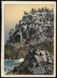 Cormorant Island by Toshi Yoshida