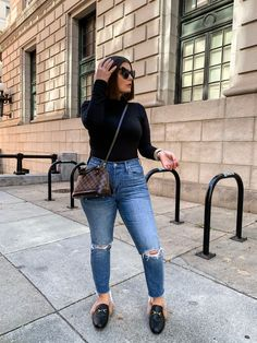 Simple Outfits, Classy Outfits, Stylish Outfits, Fall Outfits, Fashion Outfits, Fashion Bags, Women's Fashion, Turtleneck Bodysuit, Healthy Style