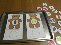 Train up a child: BFIAR - Corduroy (Teddy Bear Theme)