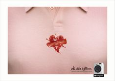 Hotpoint: Tattoos - Heart  No stain is forever.