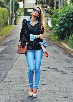 Calça Jeans pra toda hora!