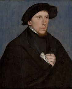 The Poet Henry Howard, Earl of Surrey, by Hans Holbein the Younger (1498-1543), Oil and tempera on panel, 21 x 16.5 in. Sao Paulo Museum of Art, Brazil.
